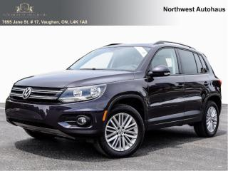 Used 2016 Volkswagen Tiguan SPECIAL EDITION  TSI 4MOTIONS PANORAMIC 10 CHOOSE for sale in Concord, ON