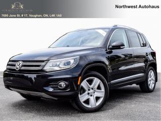 Used 2016 Volkswagen Tiguan Comfortline Leather Panoramic Sunroof for sale in Concord, ON