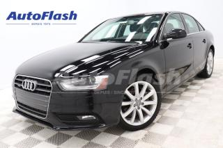Used 2014 Audi A4 2.0T * M6 * Bluetooth *Toit-Ouvrant/Sunroof for sale in Saint-Hubert, QC