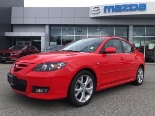 Used 2007 Mazda MAZDA3 LOADED GT SEDAN WITH SUPER LOW KMS for sale in Surrey, BC