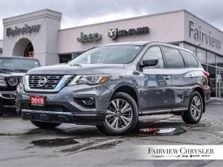 Used 2019 Nissan Pathfinder l S l 7-PASSENGER l DUAL CLIMATE l BACK-UP CAM l for sale in Burlington, ON