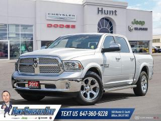 Used 2017 RAM 1500 LARAMIE | CREW | LEATHER | TOW | NAV | LOADED!!! for sale in Milton, ON
