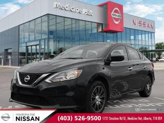 Used 2016 Nissan Sentra S for sale in Medicine Hat, AB
