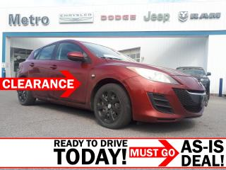 Used 2010 Mazda MAZDA3 AS-IS GX for sale in Ottawa, ON