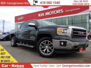 Used 2015 GMC Sierra 1500 SLT |LEATHER| NAVI | B/U CAM |4X4| HTD SEATS for sale in Georgetown, ON