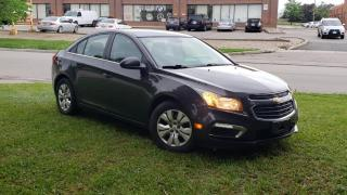 Used 2015 Chevrolet Cruze 4dr Sdn 1LT for sale in Brampton, ON