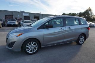 Used 2012 Mazda MAZDA5 TOURING 6Spd 6 PSSNGRS CERTIFIED 2YR WARRANTY BLUETOOTH ALLOYS CRUISE TOW HITCH for sale in Milton, ON