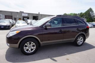 Used 2010 Hyundai Veracruz GLS 7 PSSNGRS CERTIFIED 2YR WARRANTY *FREE ACCIDENT*2ND SET TIRES* SUNROOF HEATED SEATS ALLOYS PARKING SENSORS for sale in Milton, ON
