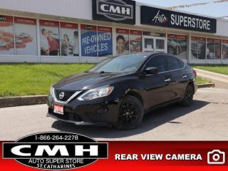 Used 2018 Nissan Sentra 1.8 SV  CAM HTD-STS ROOF BT ALLOYS AUTO for sale in St. Catharines, ON