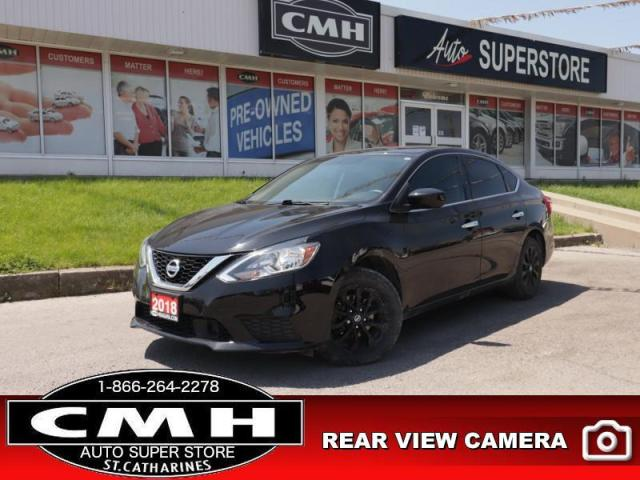 2018 Nissan Sentra 1.8 SV  CAM HTD-STS ROOF BT ALLOYS AUTO