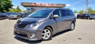 Used 2014 Toyota Sienna FWD 8-Passenger V6 | CERTIFIED| TEXT US|647.678.7778| LEATHER| DVD| REARVIEW| for sale in Mississauga, ON