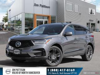 Used 2020 Acura RDX A-Spec for sale in North Vancouver, BC
