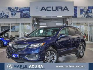 Used 2017 Acura RDX Elite, Front & Rear parking sensors, One Owner, No for sale in Maple, ON