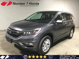 Used 2016 Honda CR-V EX-L| Leather| All-Wheel Drive| Sunroof| for sale in Woodbridge, ON