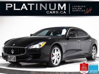 Used 2015 Maserati Quattroporte SQ4,AWD,NAV,360CAM,HEATED/COOLED LEATHER SEATS, for sale in Toronto, ON