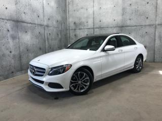 Used 2016 Mercedes-Benz C-Class C 300 4MATIC TOIT PANORAMIQUE * GPS * CAPTEUR ANGLE MORT for sale in St-Nicolas, QC