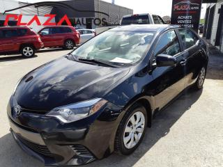 Used 2015 Toyota Corolla 4DR SDN AUTO LE for sale in Beauport, QC