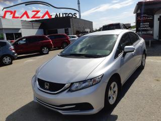 Used 2015 Honda Civic 4dr Auto LX for sale in Beauport, QC
