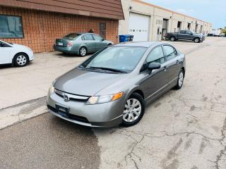 Used 2007 Honda Civic Sdn DX-G | LOW K | 1 OWNER | SERVICED for sale in Burlington, ON