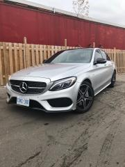 Used 2018 Mercedes-Benz C-Class AMG C 43 4MATIC Sedan-CLEAN CARFAX-360 CAMERA for sale in North York, ON