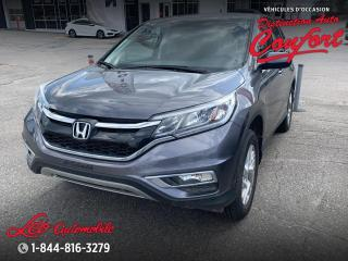 Used 2016 Honda CR-V SE **NOUVEL ARRIVAGE** for sale in Chicoutimi, QC