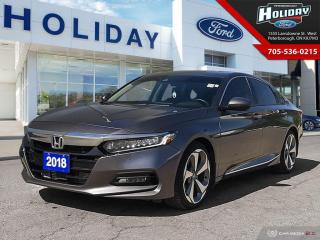 Used 2018 Honda Accord Sedan Touring for sale in Peterborough, ON