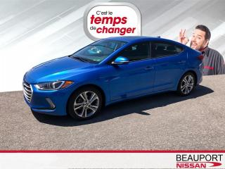 Used 2017 Hyundai Elantra Berline 4 portes, boîte automatique, GLS for sale in Beauport, QC