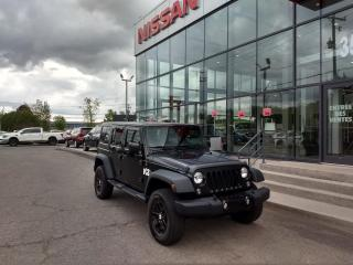 Used 2015 Jeep Wrangler Sahara UNLIMITED MAIN LIBRE*AIR CLIMATIS for sale in Lévis, QC