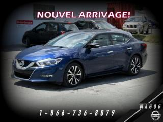 Used 2016 Nissan Maxima SL + TOIT + NAV + BOSE + CUIR + CAMÉRA! for sale in Magog, QC