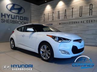 Used 2016 Hyundai Veloster SE+CAMERA+BANCS CHAUFF+PUSH-START+CRUISE for sale in Sherbrooke, QC