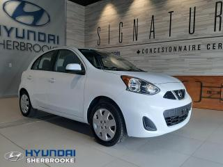 Used 2015 Nissan Micra SV+A/C+BLUETOOTH+CRUISE+GROUPE ÉLECTRIQU for sale in Sherbrooke, QC