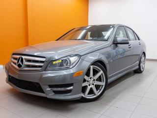 Used 2012 Mercedes-Benz C-Class C 350 4MATIC ALERTE ANGLES MORTS TOIT CUIR *NAV* for sale in Mirabel, QC