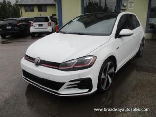 Used 2018 Volkswagen Golf 6-SPEED MANUAL AUTOBAHN-GTI MODEL 5 PASSENGER 2.0L - TURBO.. NAVIGATION.. LEATHER.. HEATED SEATS.. POWER SUNROOF.. BACK-UP CAMERA.. BLUETOOTH.. for sale in Bradford, ON