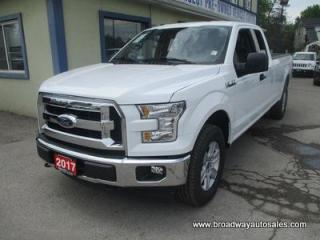 Used 2017 Ford F-150 LIKE NEW XL EDITION 6 PASSENGER 5.0L - V8.. 4X4.. EXTENDED-CAB.. 8-FOOT LONG BOX.. BACK-UP CAMERA.. BLUETOOTH SYSTEM.. KEYLESS ENTRY.. for sale in Bradford, ON