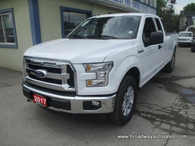 2017 Ford F-150 LIKE NEW XL EDITION 6 PASSENGER 5.0L - V8.. 4X4.. EXTENDED-CAB.. 8-FOOT LONG BOX.. BACK-UP CAMERA.. BLUETOOTH SYSTEM.. KEYLESS ENTRY..