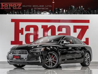 Used 2018 Audi S5 TECHNIK|ADAPT CRZ|MASSAGE|CARBON|HUD|B&O|LOADED for sale in North York, ON