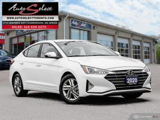 Used 2020 Hyundai Elantra Preferred ONLY 16K! **BACK-UP CAMERA** CLEAN CARPROOF for sale in Scarborough, ON