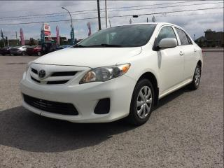 Used 2011 Toyota Corolla 4DR SDN AUTO CE for sale in Gatineau, QC