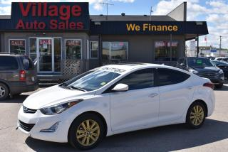 Used 2016 Hyundai Elantra GL Bluetooth! Cruise Control! Heated Seats! for sale in Saskatoon, SK