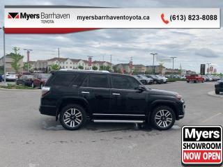 Used 2016 Toyota 4Runner SR5  - Navigation -  Sunroof - $243 B/W for sale in Ottawa, ON