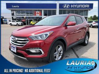 Used 2018 Hyundai Santa Fe Sport 2.4L AWD Luxury - Navigation for sale in Port Hope, ON