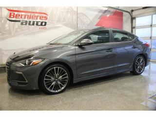 Used 2018 Hyundai Elantra SPORT TECH 1.6T for sale in Lévis, QC