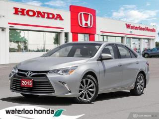 Used 2015 Toyota Camry XLE V6 Accident Free, One Owner Camry V6! for sale in Waterloo, ON