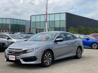 Used 2016 Honda Civic Accident free, One Owner Civic EX! Certified Powertrain Warranty Until 06/29/2023 or 160,000KM! for sale in Waterloo, ON