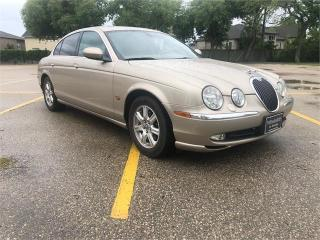 Used 2003 Jaguar S-Type 3.0L V6 very clean BC Car! for sale in Winnipeg, MB