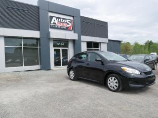 Used 2014 Toyota Matrix BAS KILO + INSPECTÉ + BLUETOOTH for sale in Sherbrooke, QC