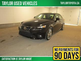 Used 2016 Lexus IS 300 One owner LOW mileage! for sale in Regina, SK