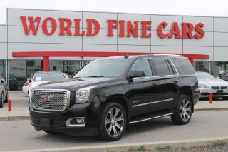 Used 2017 GMC Yukon Denali | One Owner | Accident Free | 4x4 | 7-Seats for sale in Etobicoke, ON