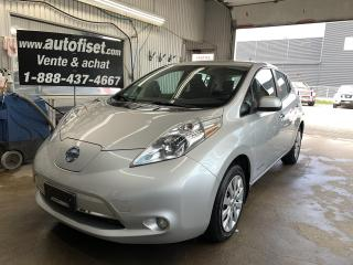 Used 2015 Nissan Leaf SV for sale in St-Raymond, QC