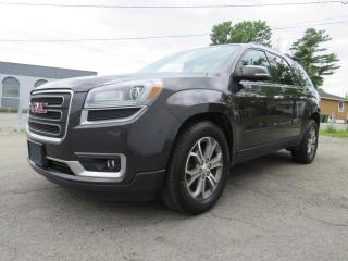Used 2014 GMC Acadia AWD SLT2 NAVIGATION BOSE CAMERA CUIR TOIT PANOR. for sale in St-Eustache, QC